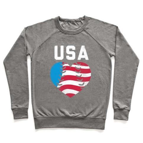 USA Baseball Love Pullover