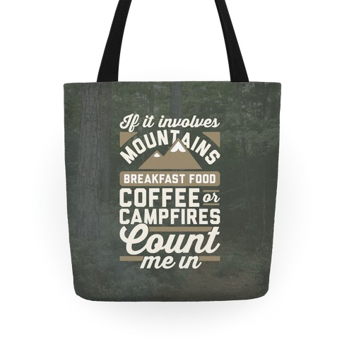 Count Me In Tote