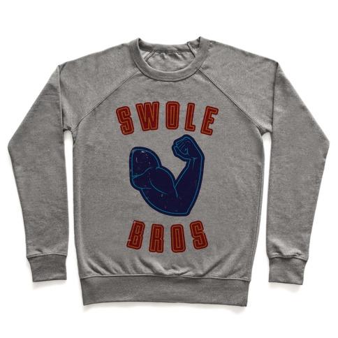 Swole Bros Blue Pullover