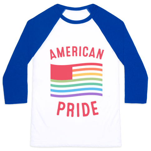 American Pride Baseball Tee