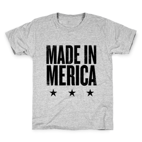Made In Merica Kids T-Shirt
