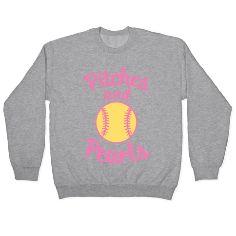 Pitches And Pearls Pullover