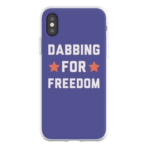 Dabbing For Freedom Phone Flexi-Case