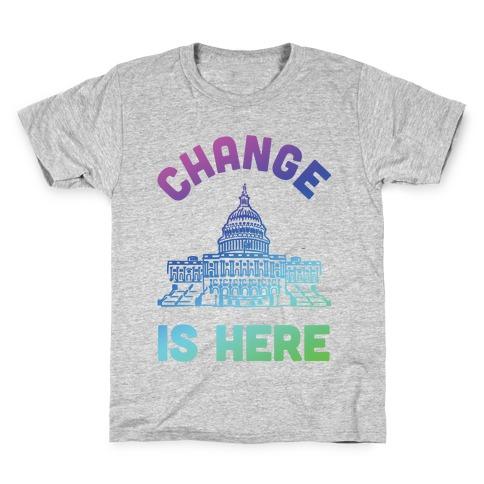 Change Is Here Congress Kids T-Shirt
