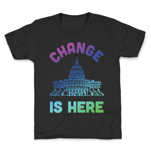 Change Is Here Congress Kids T-Shirt