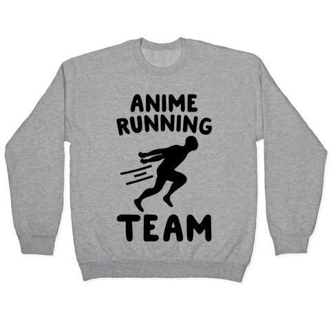 Anime Running Team Pullover