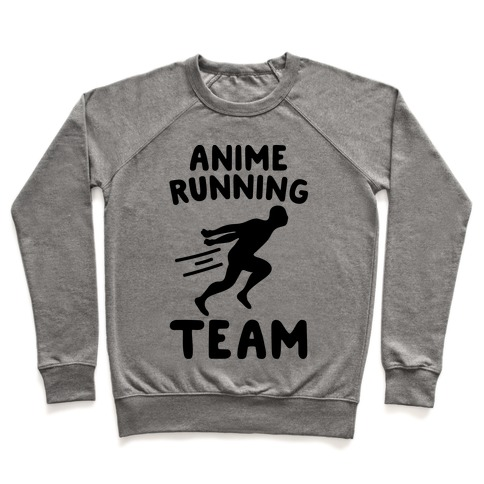 Anime Running Team Pullover