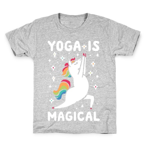 Yoga Is Magical Kids T-Shirt