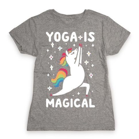 Yoga Is Magical Womens T-Shirt