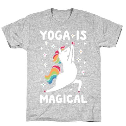 Yoga Is Magical Mens/Unisex T-Shirt