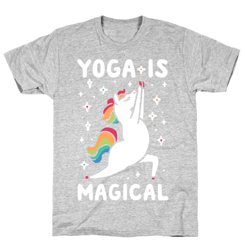 Yoga Is Magical Mens/Unisex T-Shirt