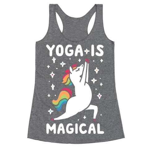 Yoga Is Magical Racerback Tank Top