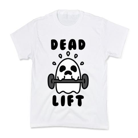 Dead Lift (Ghost) Kids T-Shirt