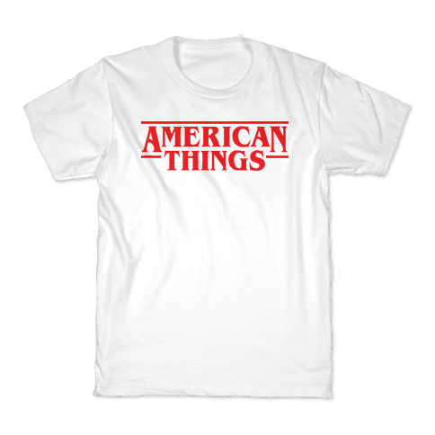 American Things Kids T-Shirt