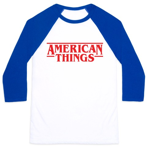 American Things Baseball Tee