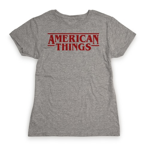 American Things Womens T-Shirt