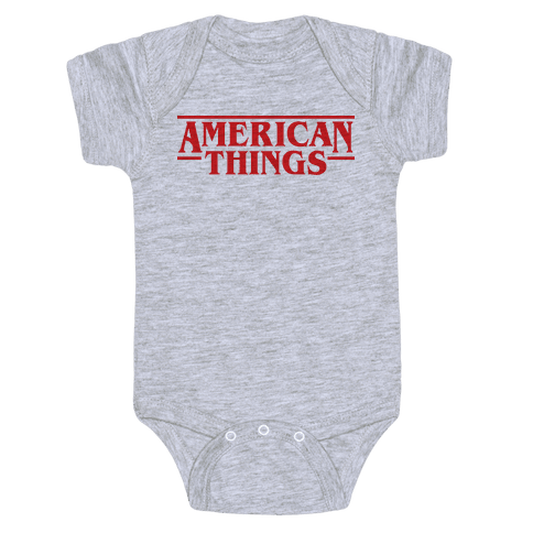 American Things Baby Onesy