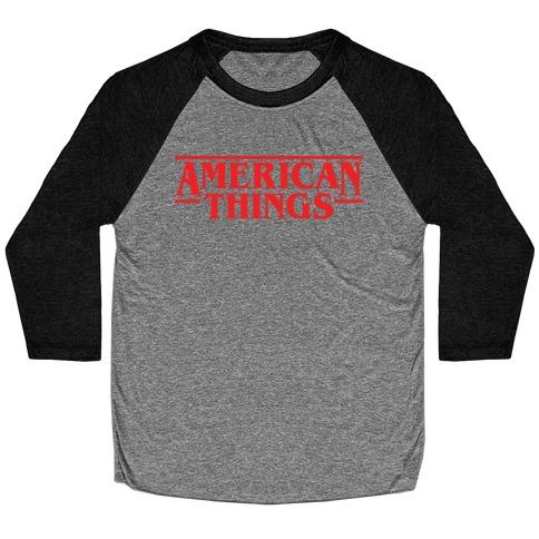 American Things Baseball Tee