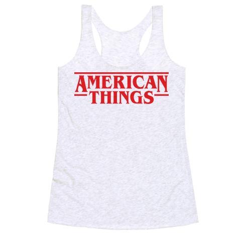 American Things Racerback Tank Top