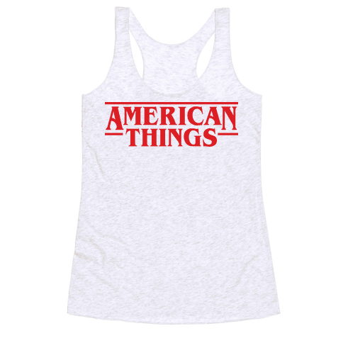 American Things Racerback Tank Top