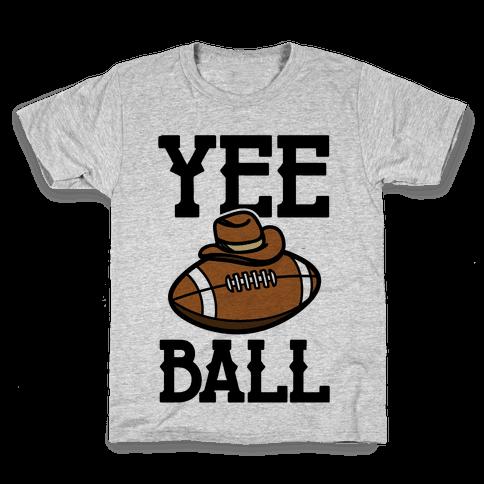 Yee Ball (Football) Kids T-Shirt