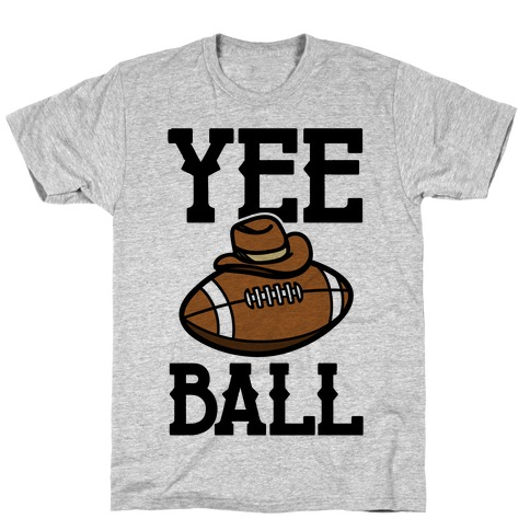 Yee Ball (Football) Mens/Unisex T-Shirt