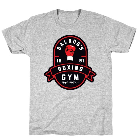 Balrog's Boxing Gym Mens T-Shirt
