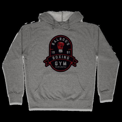 Balrog's Boxing Gym Hooded Sweatshirt