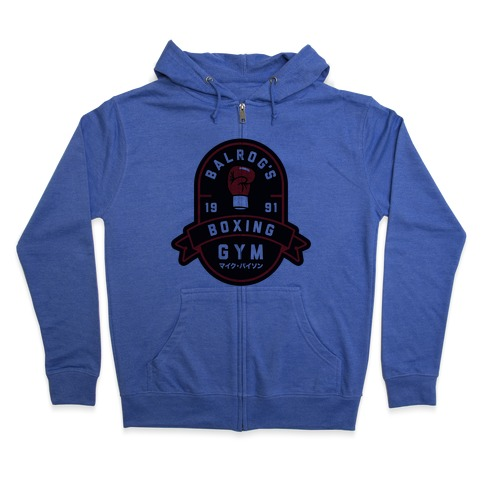 Balrog's Boxing Gym Zip Hoodie