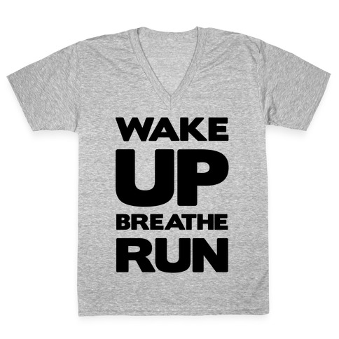 WAKE UP V-Neck Tee Shirt