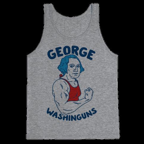 George WashinGUNS Tank Top