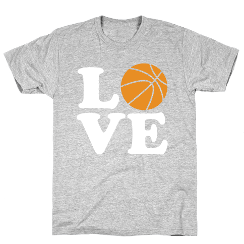 Love Basketball Mens T-Shirt