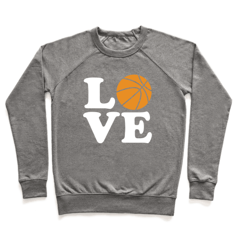 Love Basketball Pullover