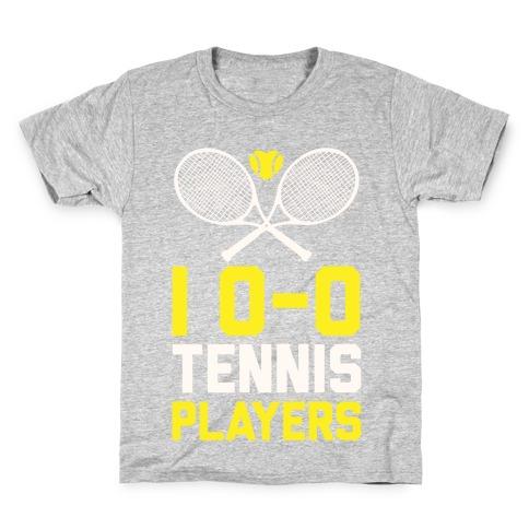 I Love Tennis Players Kids T-Shirt