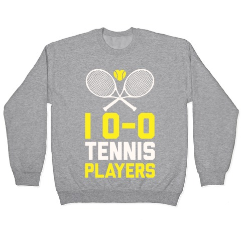 I Love Tennis Players Pullover