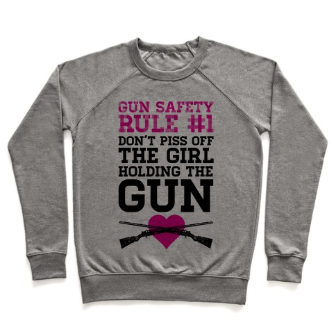 Rule One of Gun Safety Pullover