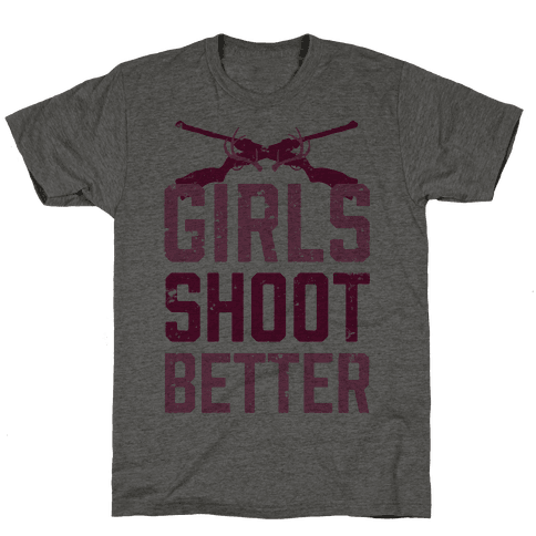Girls Shoot Better (Rifle)