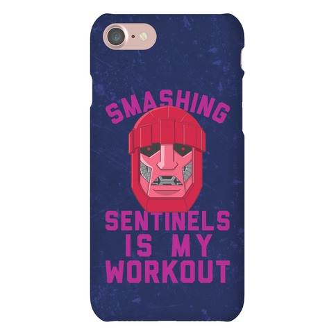Smashing Sentinels Is My Workout Phone Case