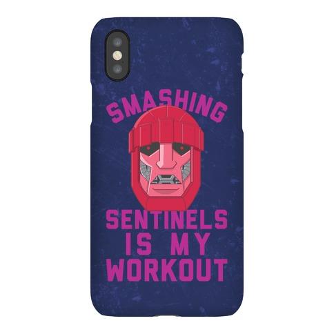 Smashing Sentinels Is My Workout Phone Case