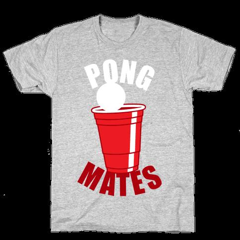 Pong Mates Mens T-Shirt