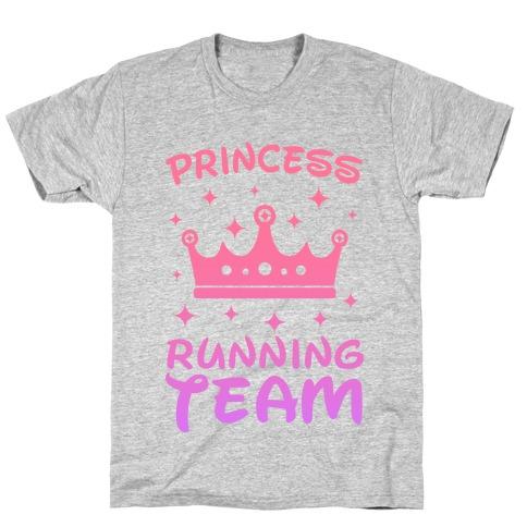 Princess Running Team T-Shirt