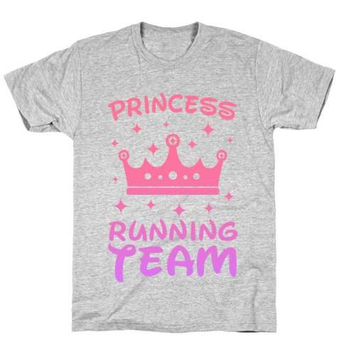 Princess Running Team T-Shirt