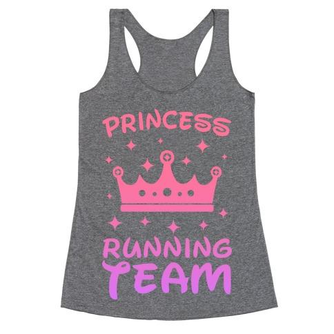 Princess Running Team Racerback Tank Top