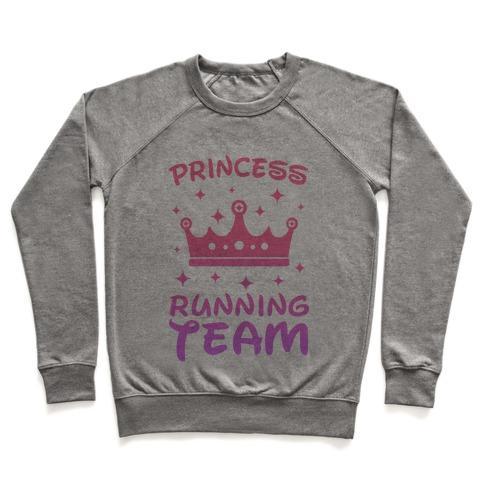 Princess Running Team Pullover