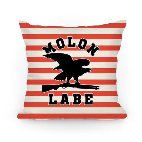 Molon Labe Eagle Pillow