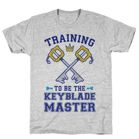 Training To Be The Keyblade Master Mens/Unisex T-Shirt