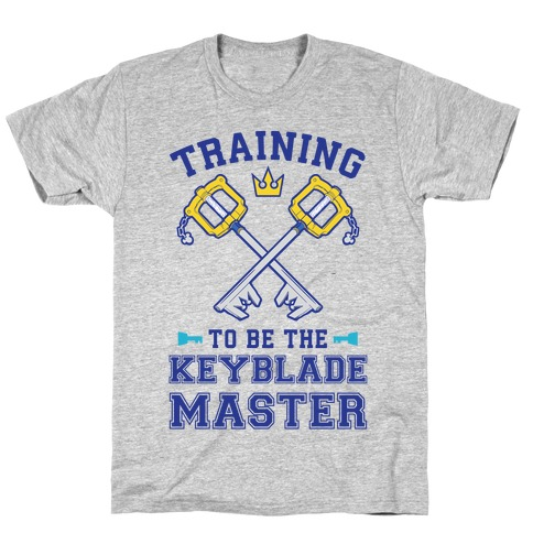 Training To Be The Keyblade Master T-Shirt