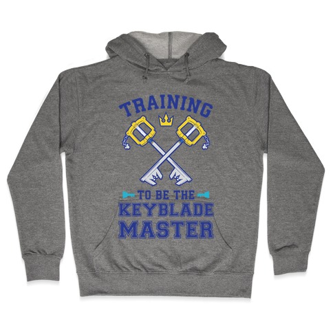 Training To Be The Keyblade Master Hooded Sweatshirt