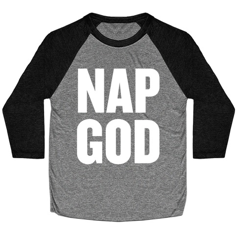 Nap God Baseball Tee