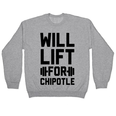 Will Lift For Chipotle Pullover